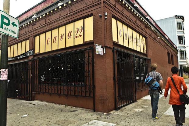 Cava22, in San Francisco's Mission District, where another unreleased iPhone apparently went missing last month