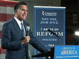 Romney unveils plan for economy