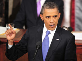President Obama addresses a Joint Session of Congress