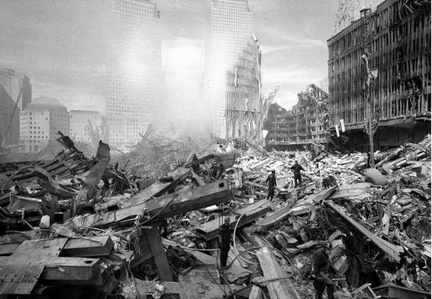 9/11 pictures taken by former NYPD detective
