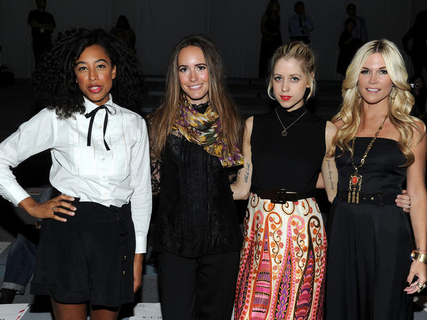 Stars at Fashion Week