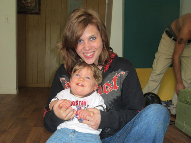 Brandi Wells with her son Logan Tanner Wells