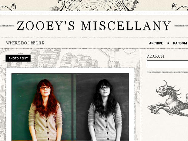 "Get your ""New Girl"" Zooey Deschanel fix online"