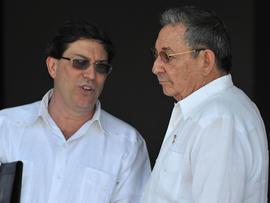 Bruno Rodriguez, Raul Castro