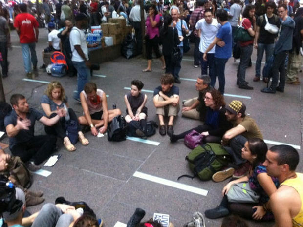 The most powerful  Occupy Wall Street twitpics