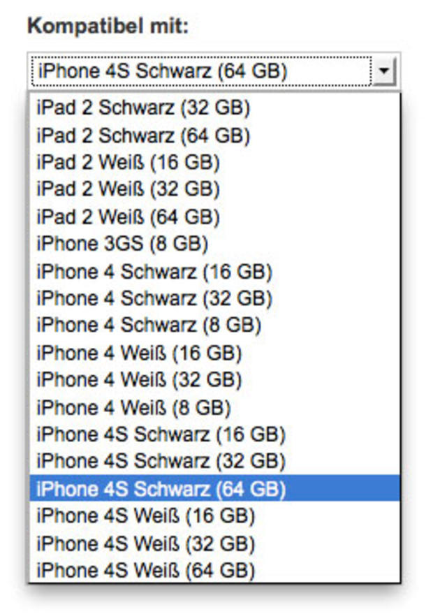iPhone 4S pops up on German carrier's web site