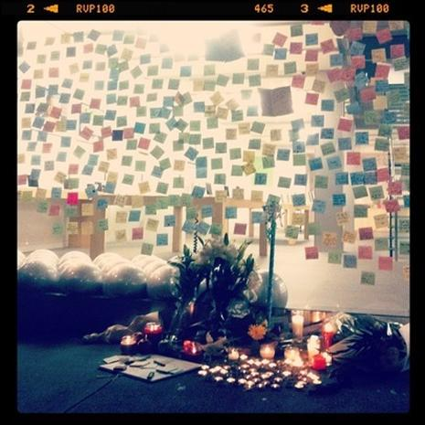 Sweet Steve Jobs tributes shared on Instagram and Twitpic