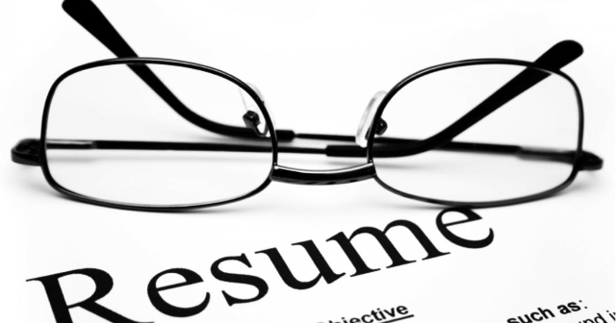 hiring managers reveal the biggest resume mistakes cbs news