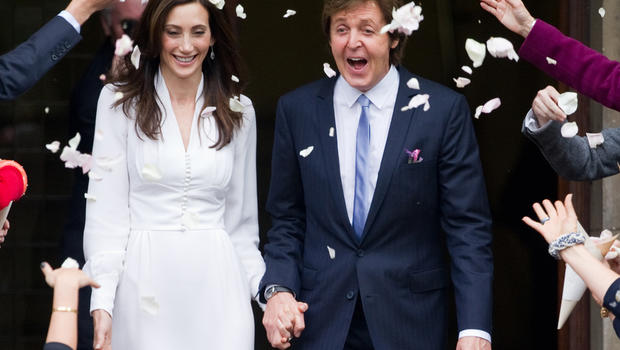 Paul McCartney And Nancy Shevells Wedding Details