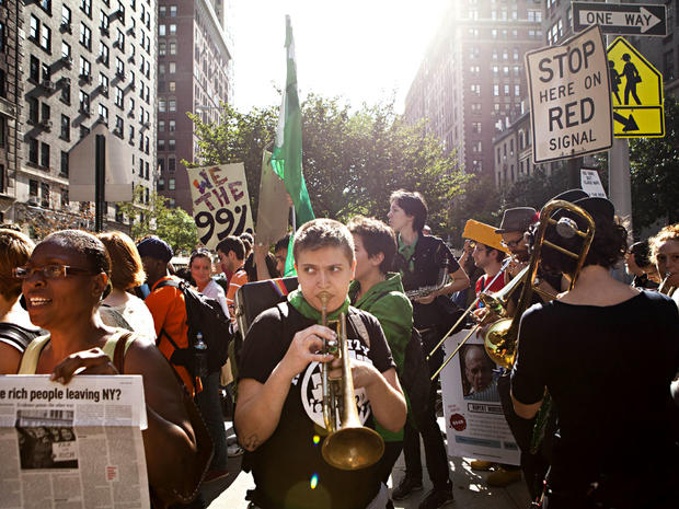 occupy wall street new york
