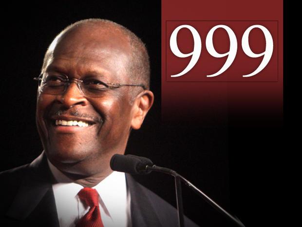 Herman Cain's 999 Plan