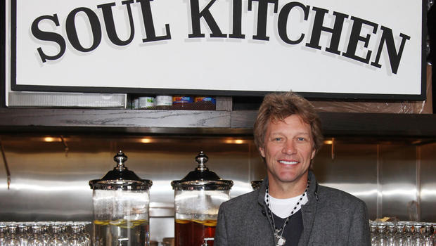 jon bon jovi opens charity restaurant in new jersey cbs news - Jon Bon Jovi Soul Kitchen