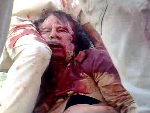 The death of Muammar Qaddafi