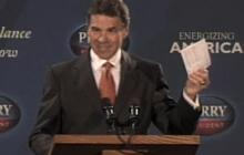 Perry introduces flat tax plan