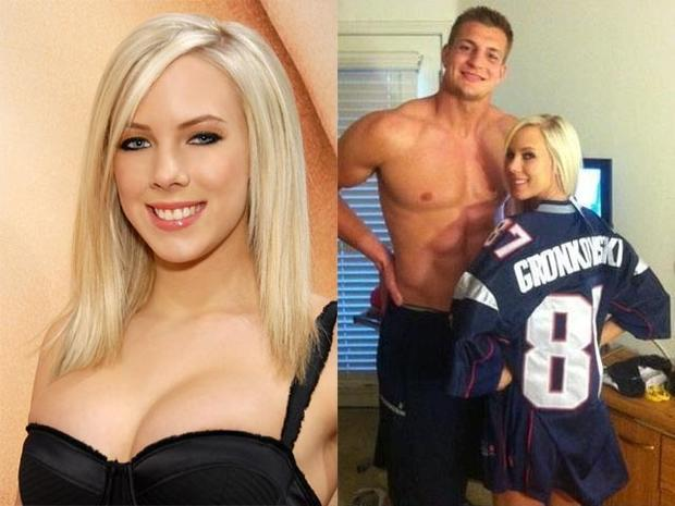 Bibi Jones and Rob Gronkowski