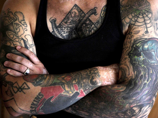 Nazi skinhead sheds tattoos: 16 amazing photos
