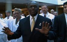 Herman Cain clashes with reporters