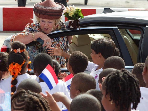 A royal visit to the Caribbean