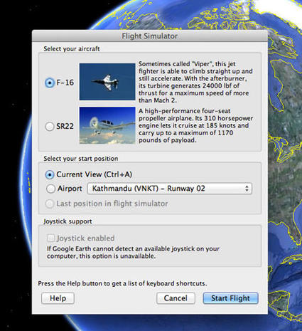Google Earth flight simulator - 17 amazing Google Easter