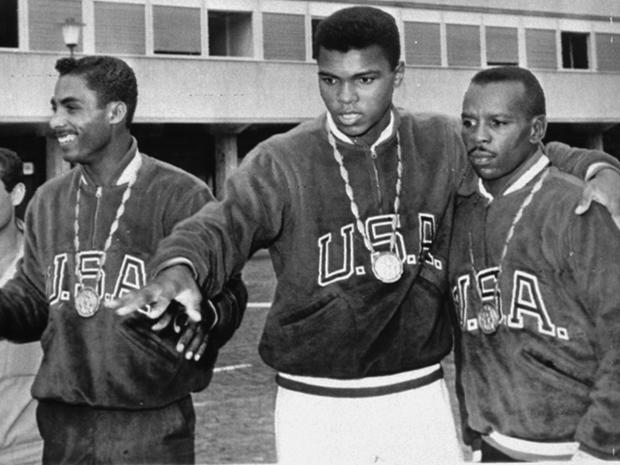 gold medal winner Cassius Clay