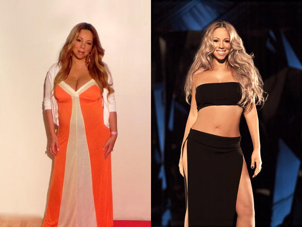 jenny craig, mariah carey, weight-loss diet