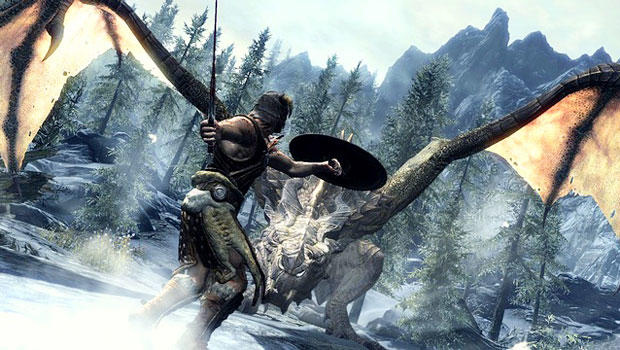Skyrim enthralls you in a never-ending tale of adventure, glory and dragons!