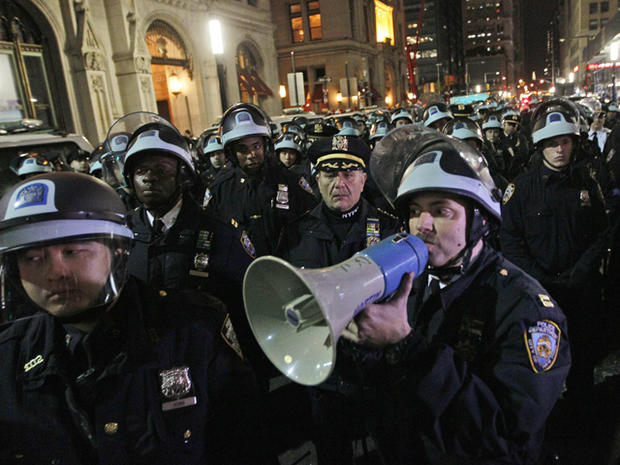Occupy Zuccotti arrests
