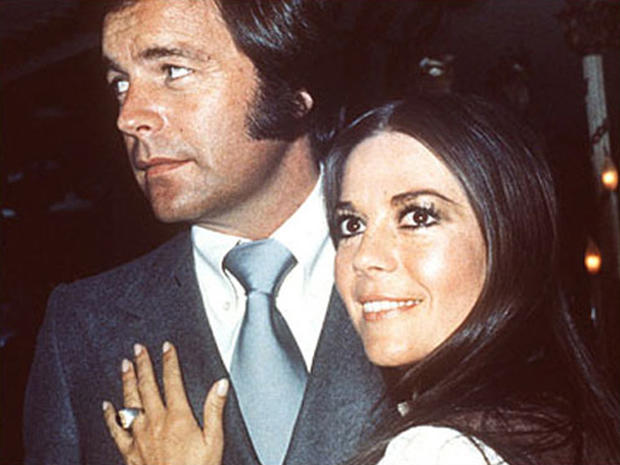Robert Wagner and Natalie Wood in 1980.