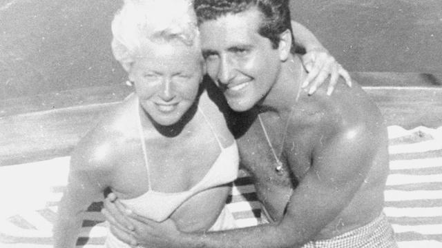 Lana Turner and Johnny Stompanato