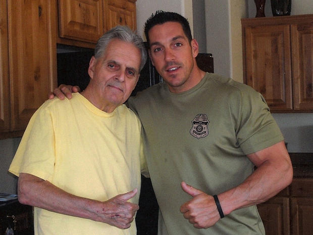 Brian Terry with his father Kent Terry, Sr. in an undated family photo.