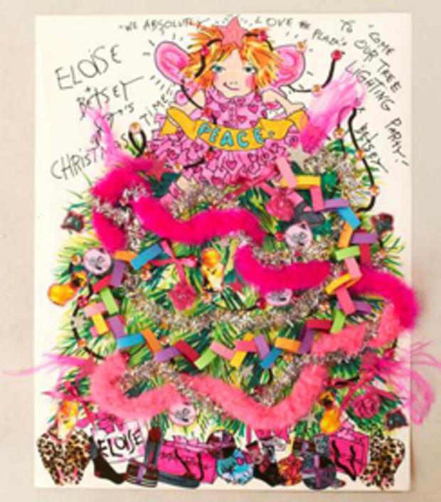 Eloise At Christmas.Betsey Johnson Designs Eloise Inspired Christmas Tree For