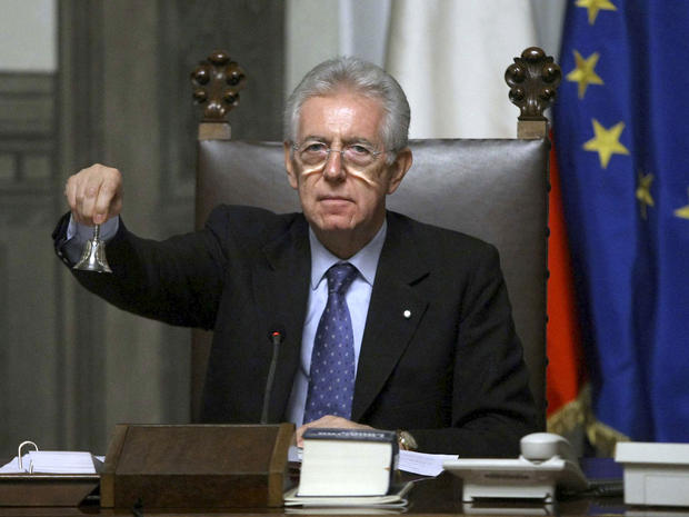 Mario Monti, Italy