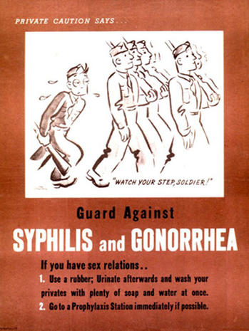 Dangerous sex: 27 vintage STD posters