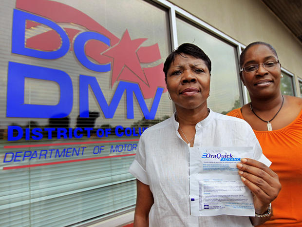 dmv, free HIV tests, washington d.c.