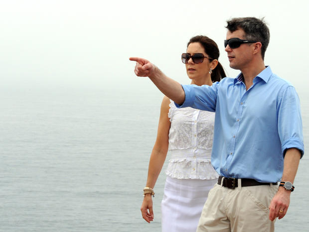Prince Frederik and Princess Mary visit Australia