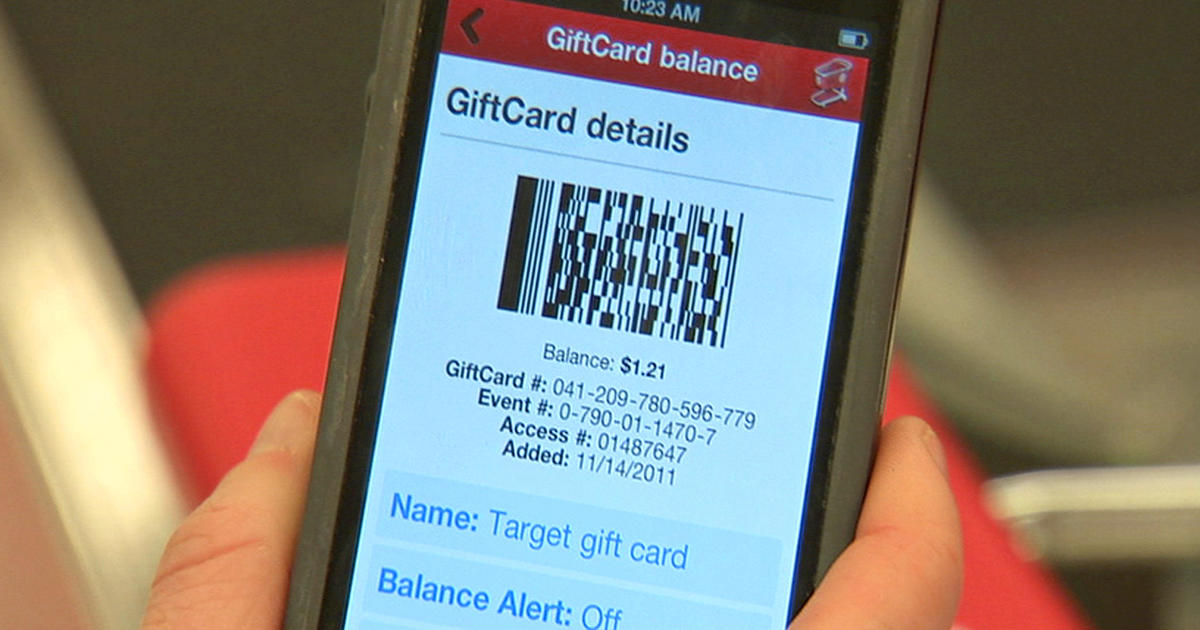 Mobile gift cards: the next big trend? - Videos - CBS News