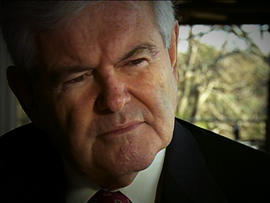 Gingrich talks about lead in key primary state