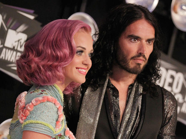 Katy Perry & Russell Brand