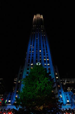 Rockefeller Center Christmas Tree 2011