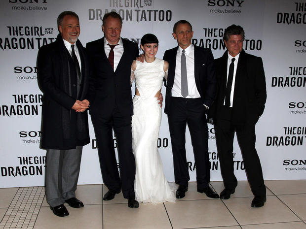 """The Girl with the Dragon Tattoo"" premiere"