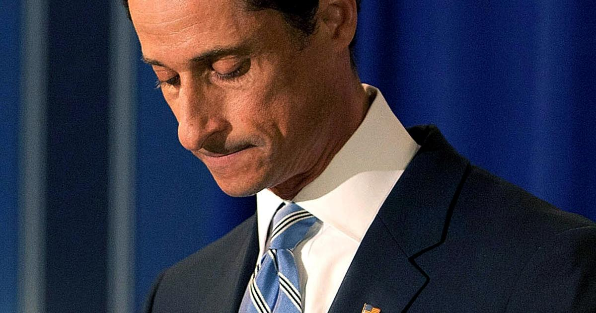 Anthony Weiner Returns To Twitter Cbs News