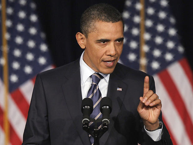 President Barack Obama outlines his fiscal policy