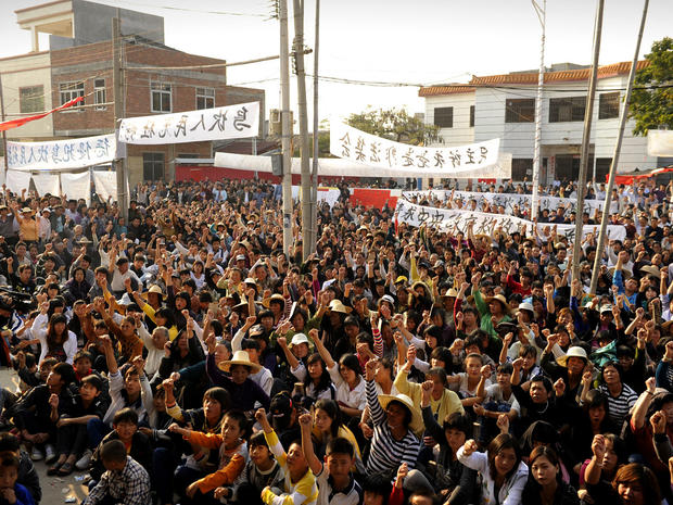 Wukan, China, protests, revolt