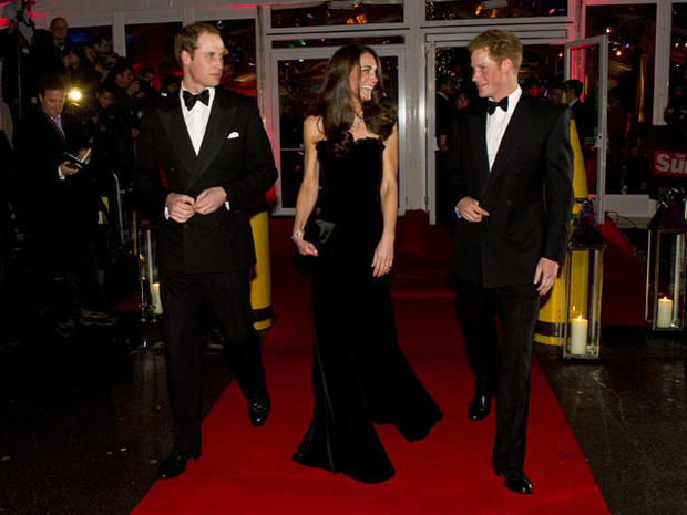 Royals step out for Sun Military Awards