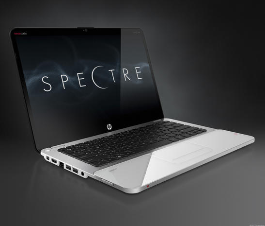 Gorilla Glass? HP Envy 14 Spectre steals the show at CES 2012