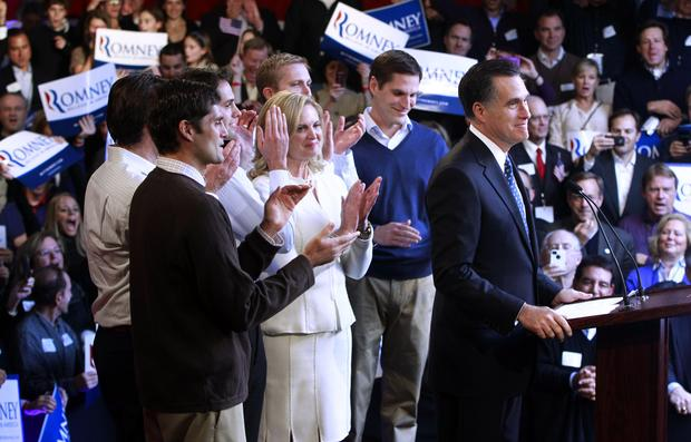 New Hampshire primary night scenes