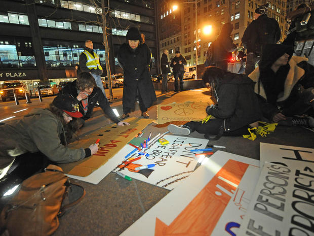 Occupy protests: Month 4