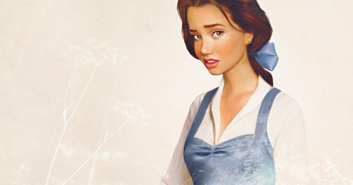 Disney Princesses Envisioned In Real Life Cbs News