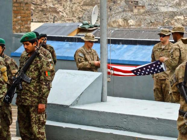 Nangalam, Afghanistan, troops
