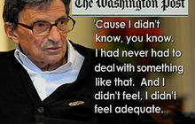 Paterno: I didn't know how to handle sex abuse